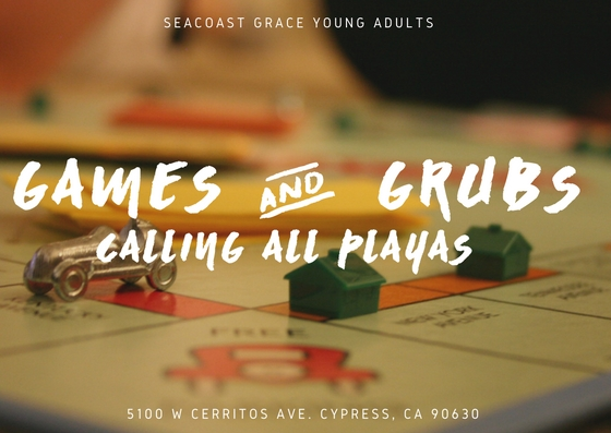 Seacoast grace young adults presents  4