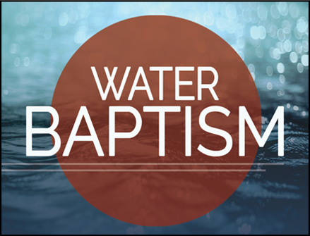 Water baptism updated 4.5.17