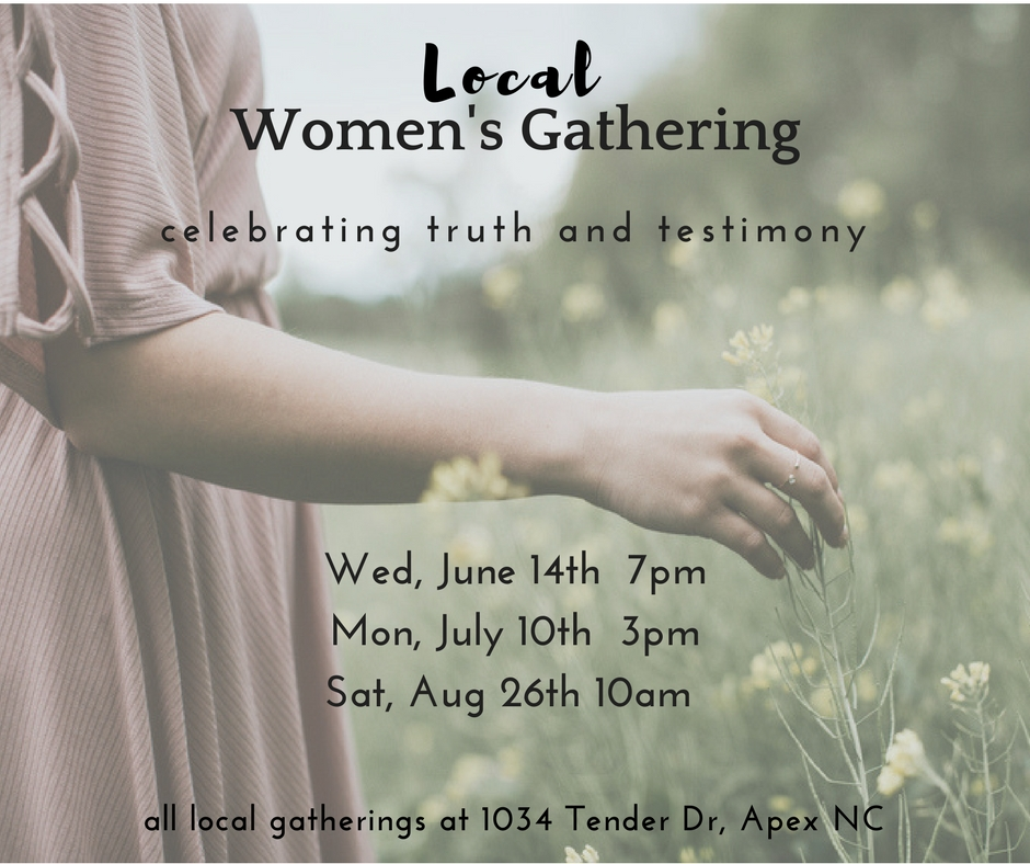 Local women s gathering