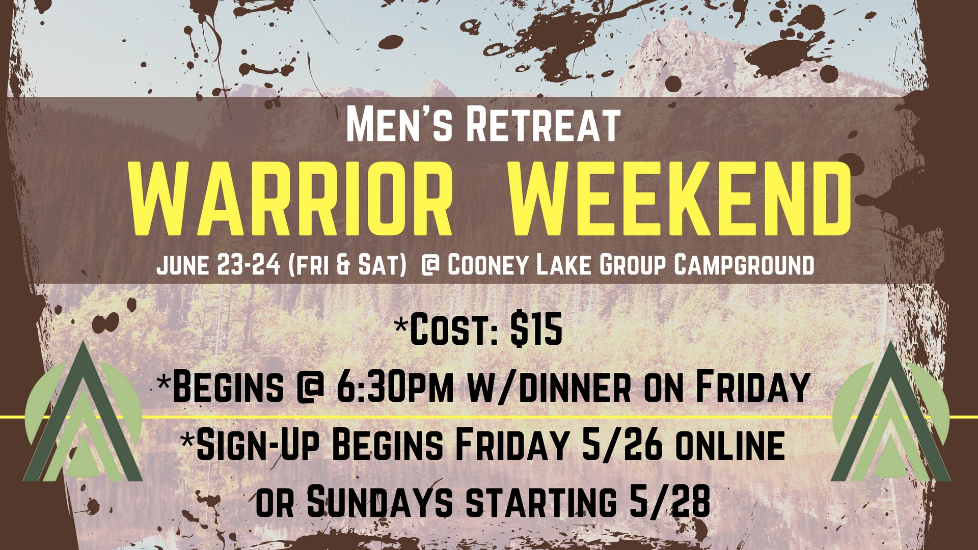 Warrior weekend