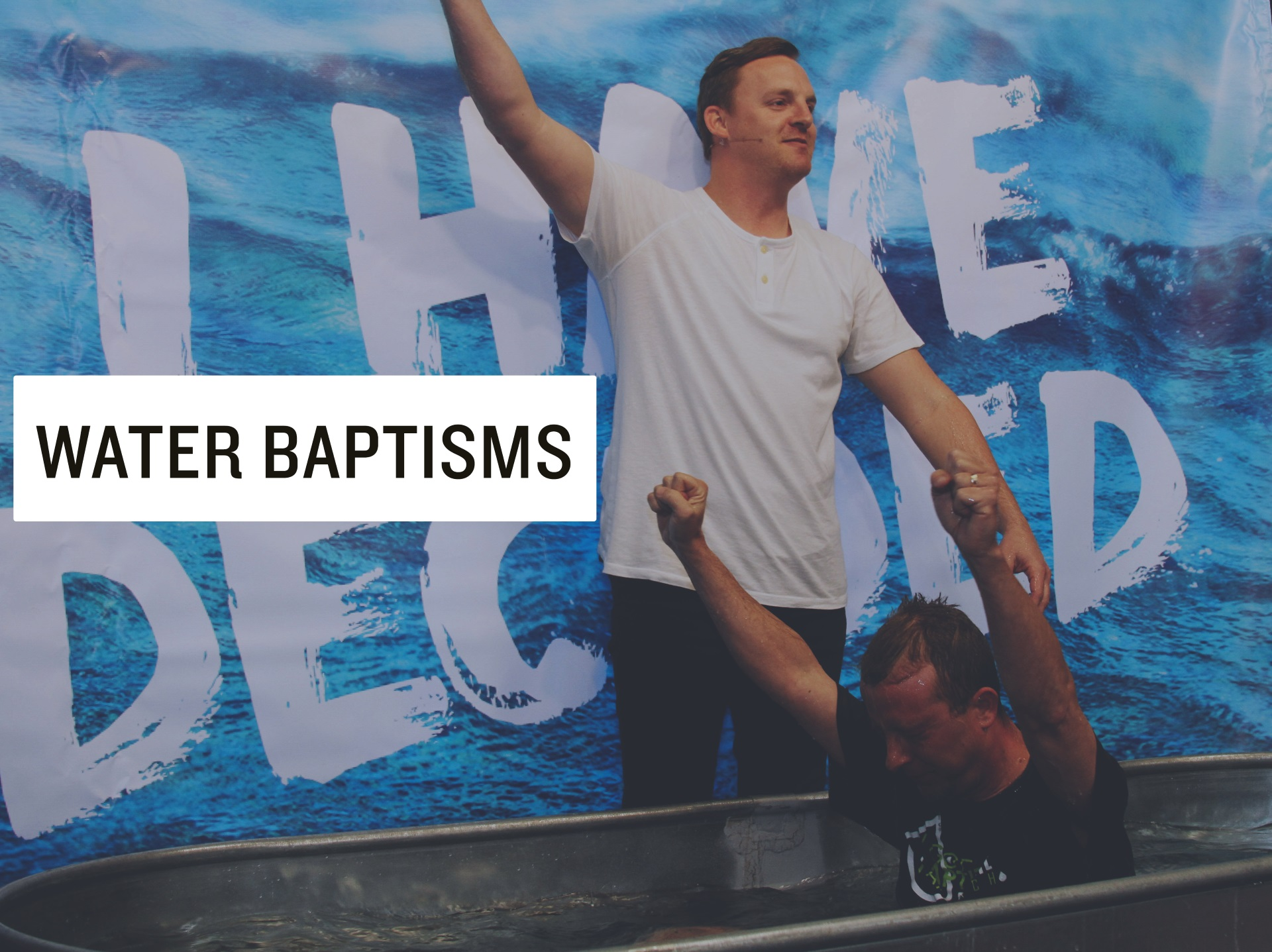 Water baptisms no date sm