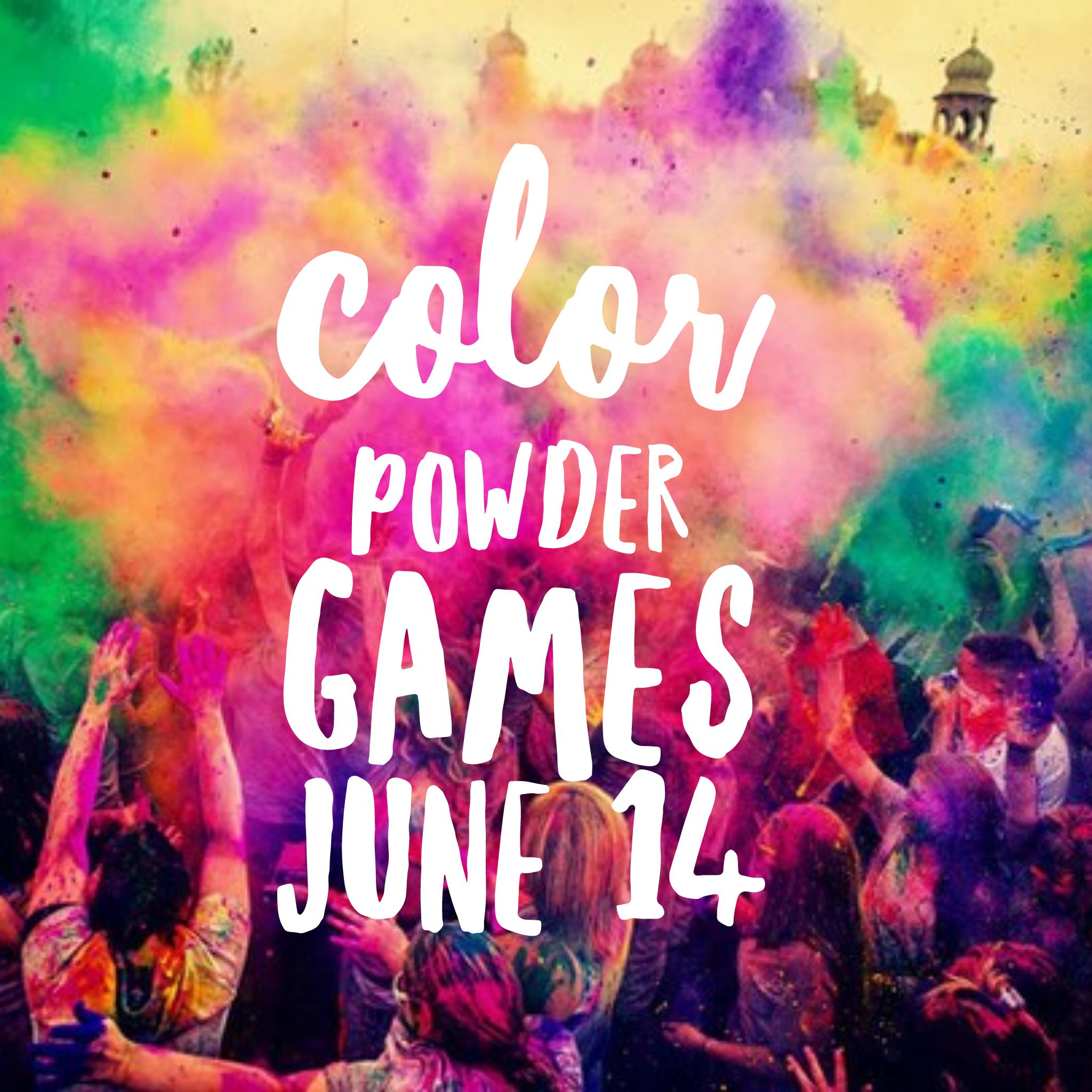 2017 color powder games