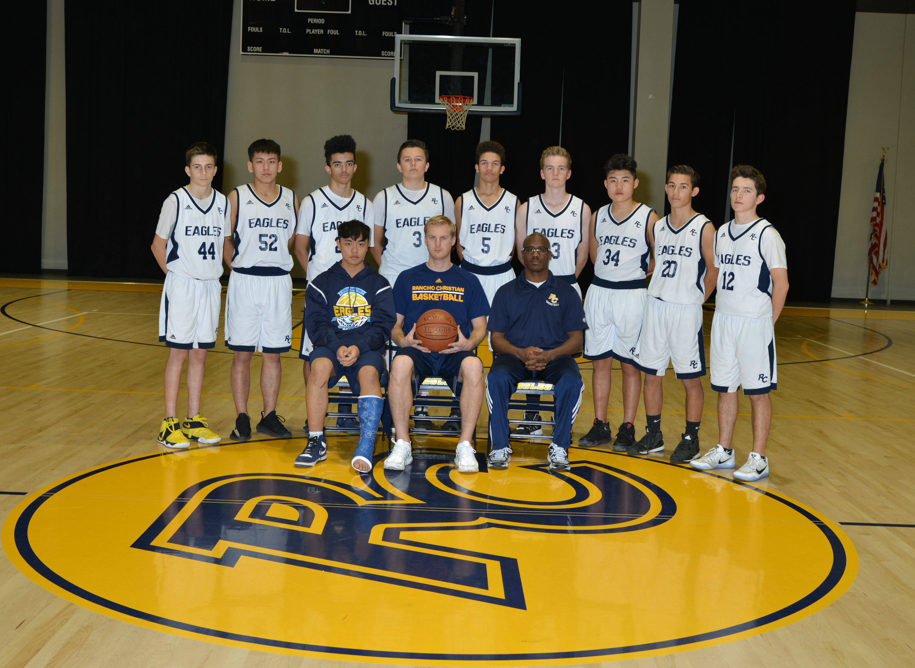 Rchs jv boys basketball 2016 17