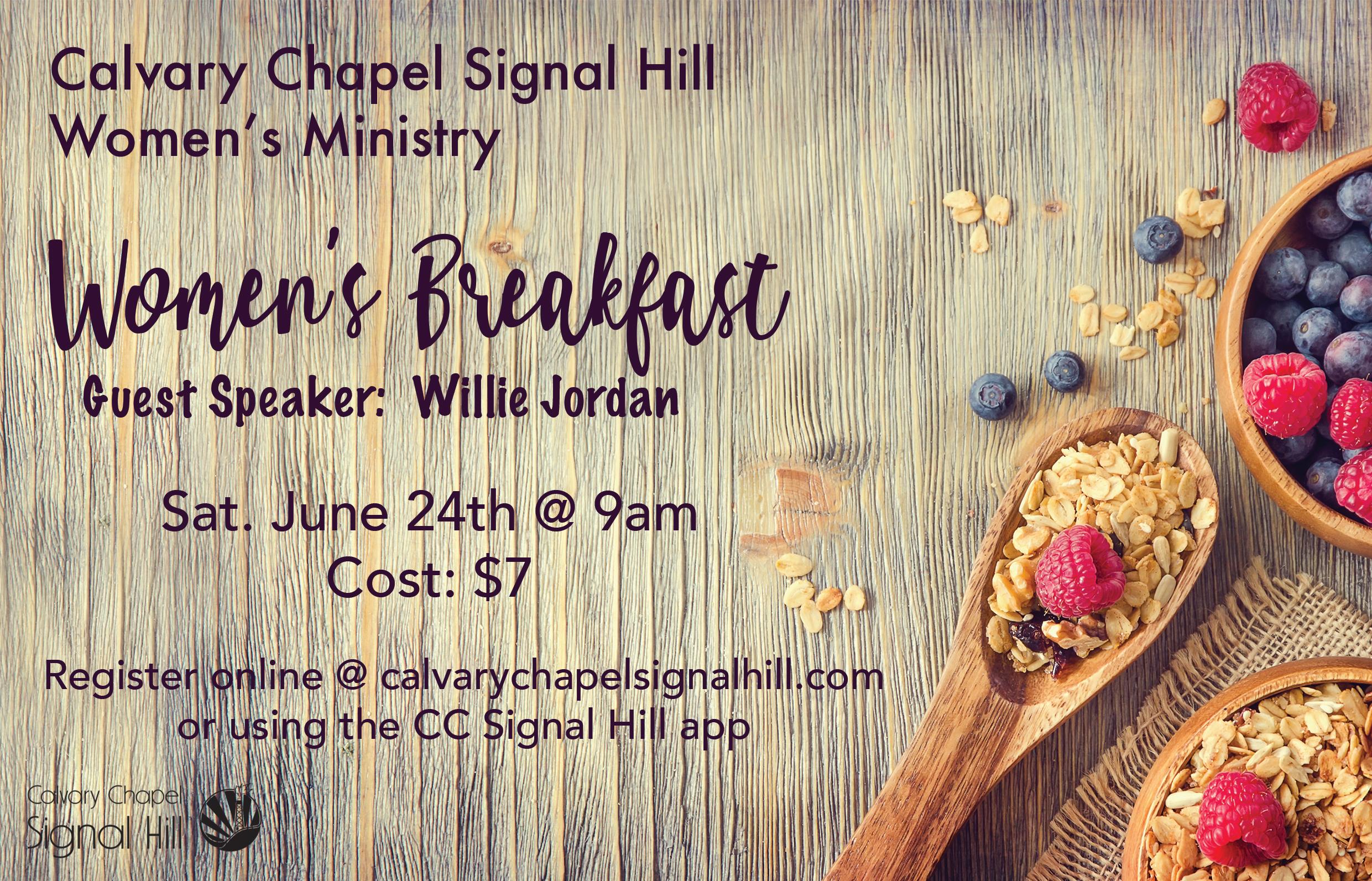 Women s breakfast flyer insert 062417