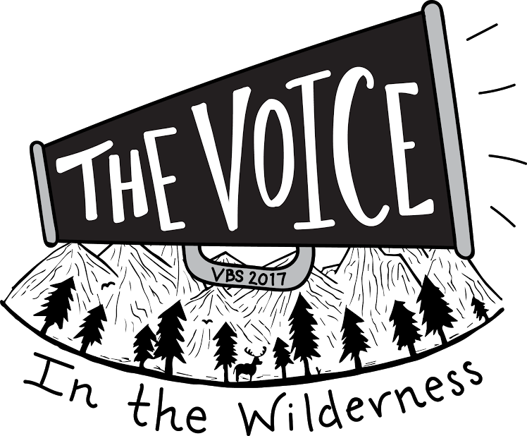 The voice in the wilderness vbs 2017 logo
