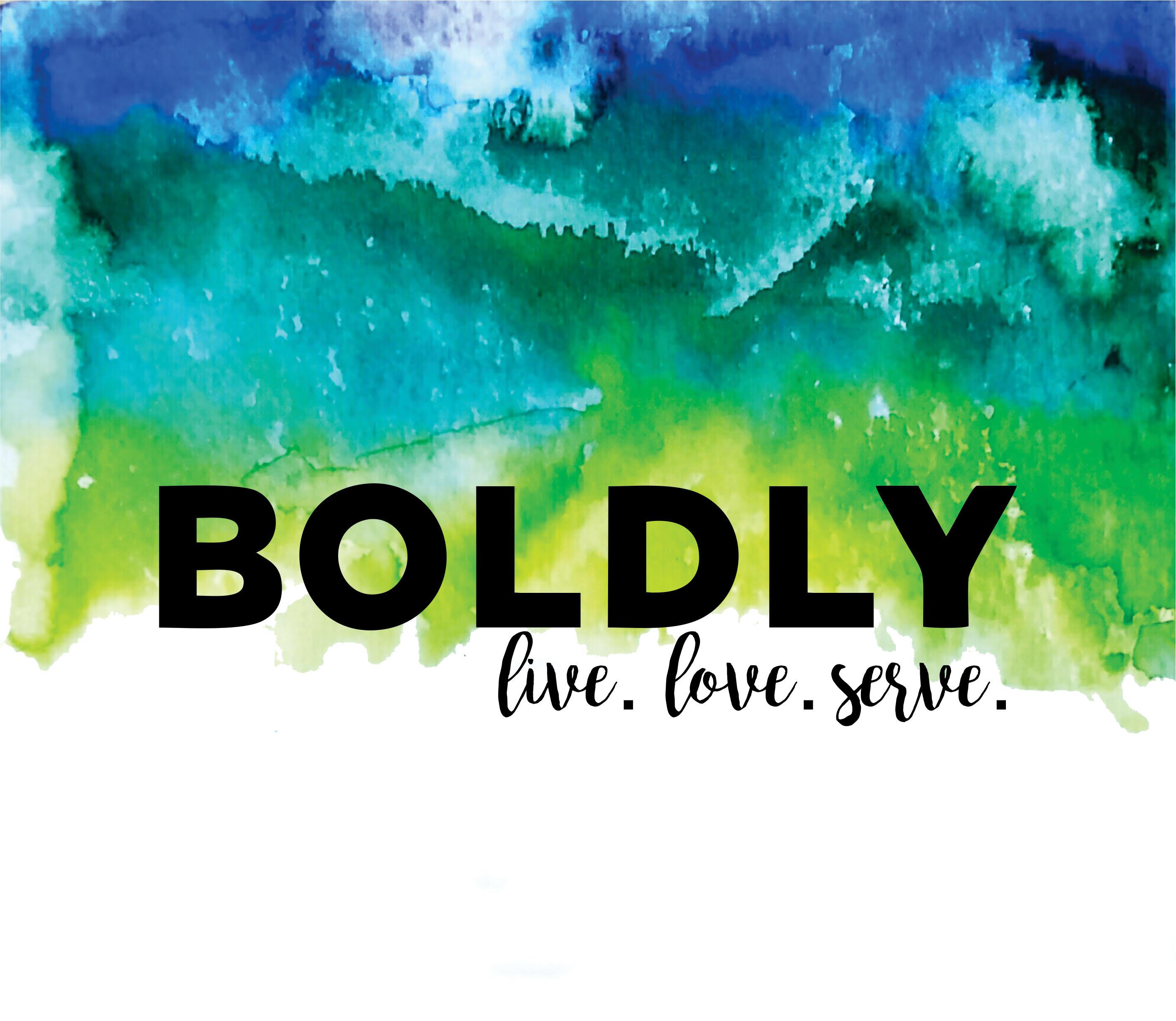 Boldly 2017 retreat logo