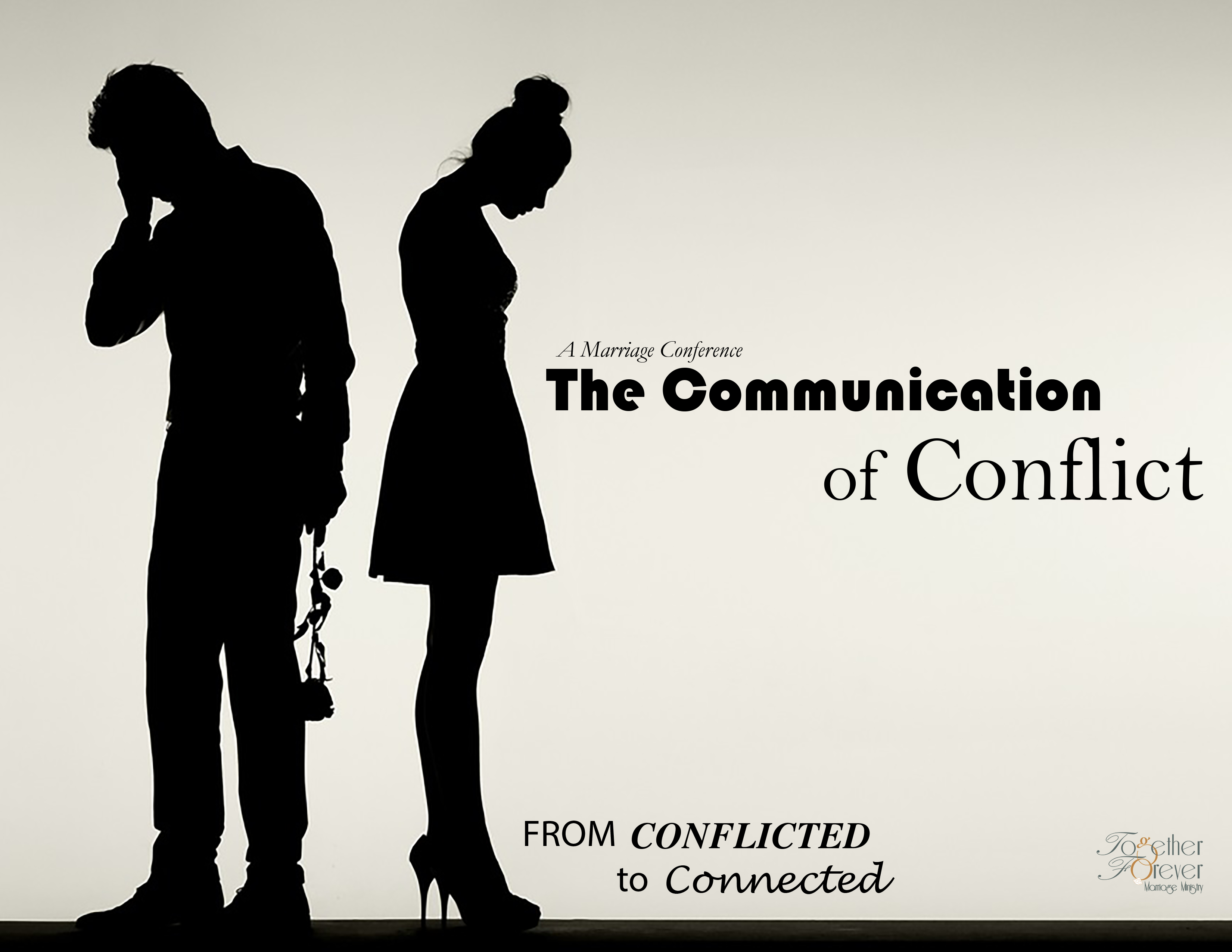 Marriage conference communication of conflict
