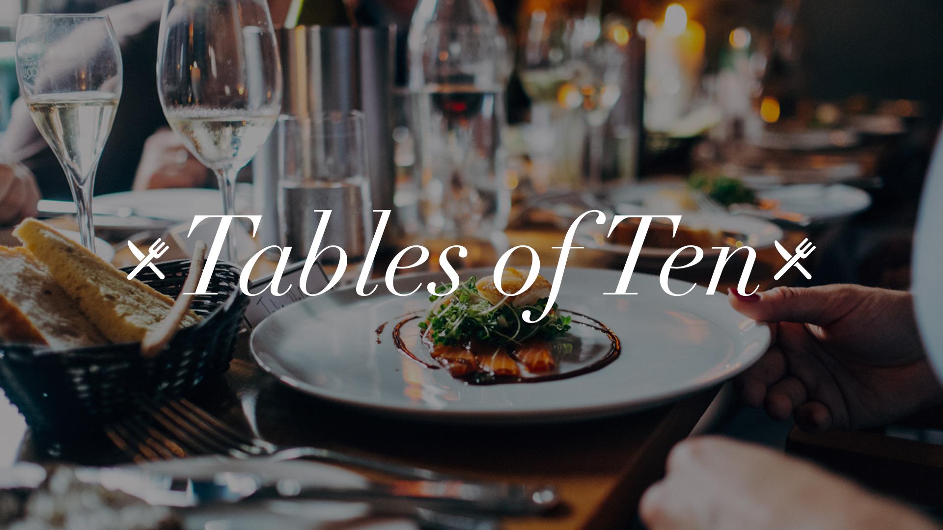 Tables of ten no dates