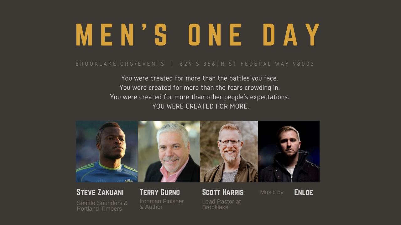 Men s one day planning center registrations