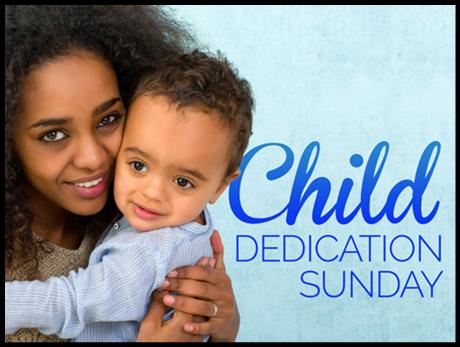 Child dedication 2016