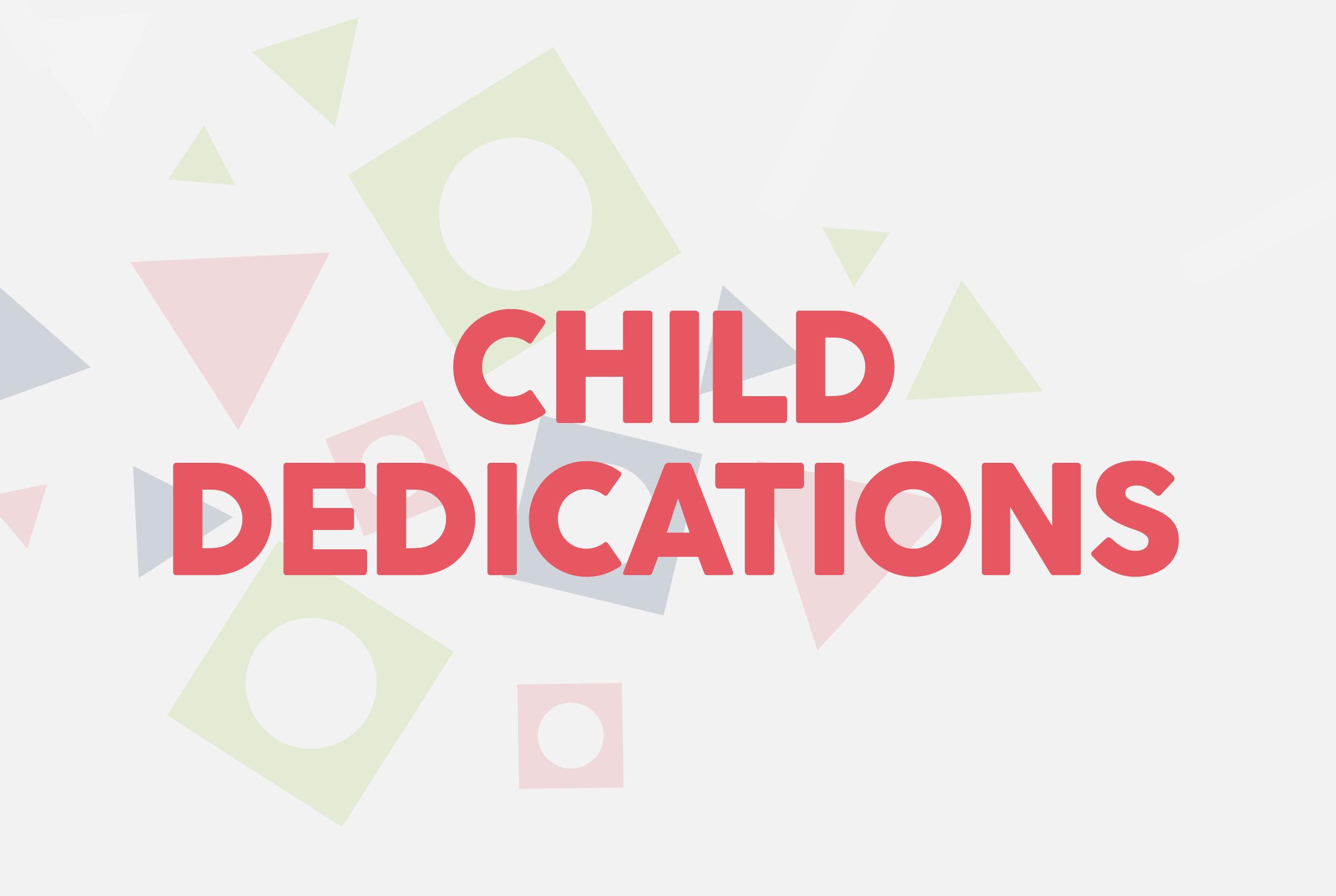 Child dedications mailchimp