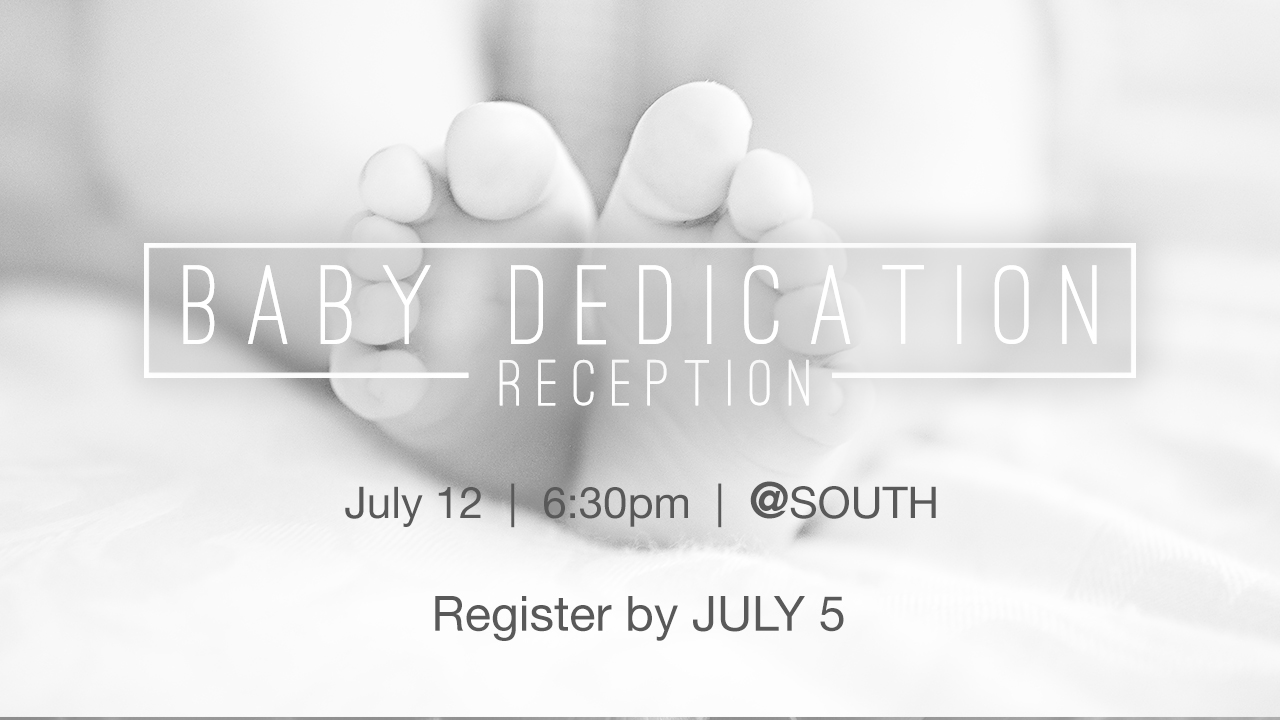 Baby dedication web