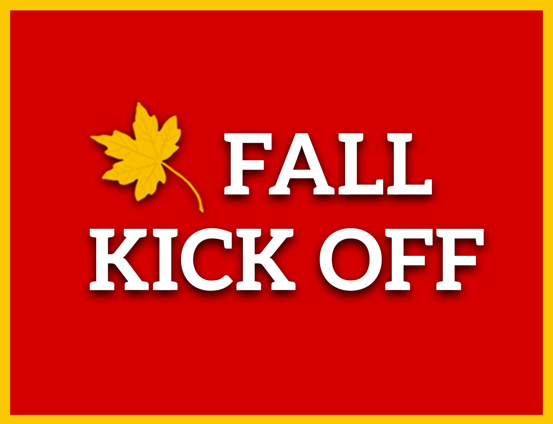 Fall kick off 2017 pco registration