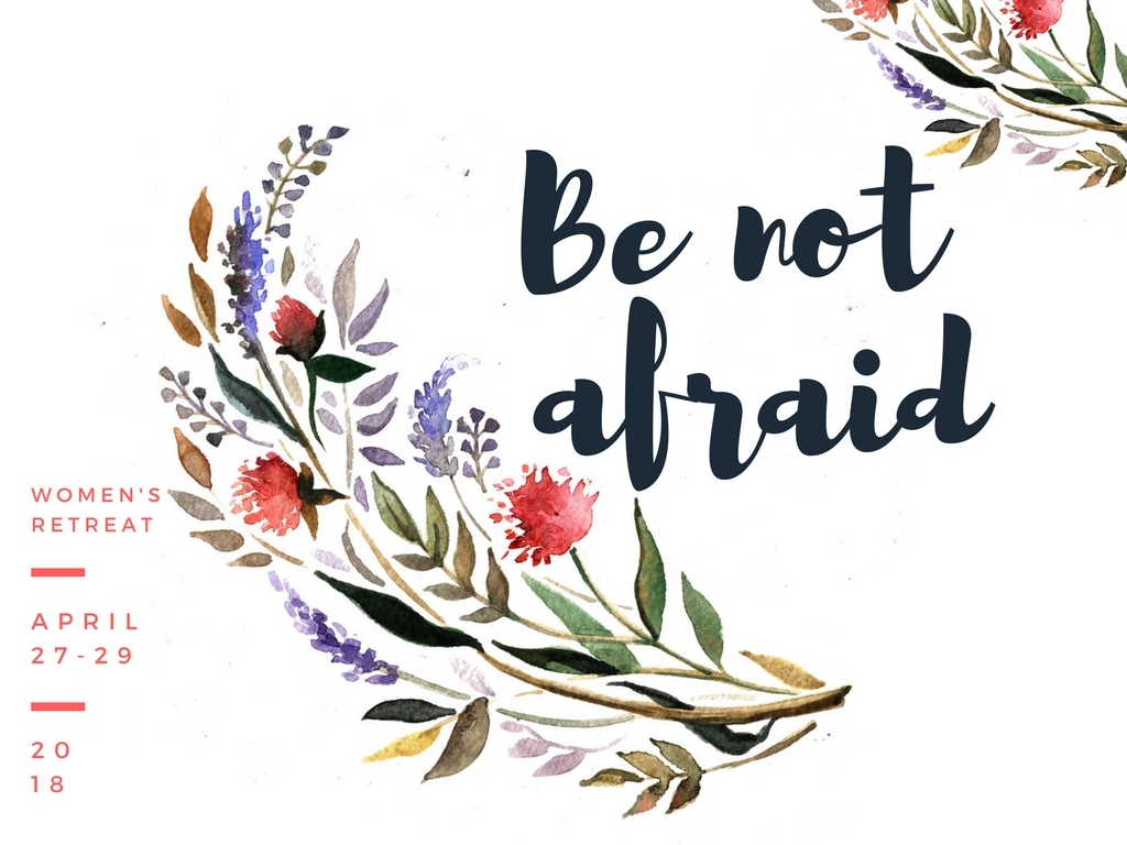 Be not afraid  2