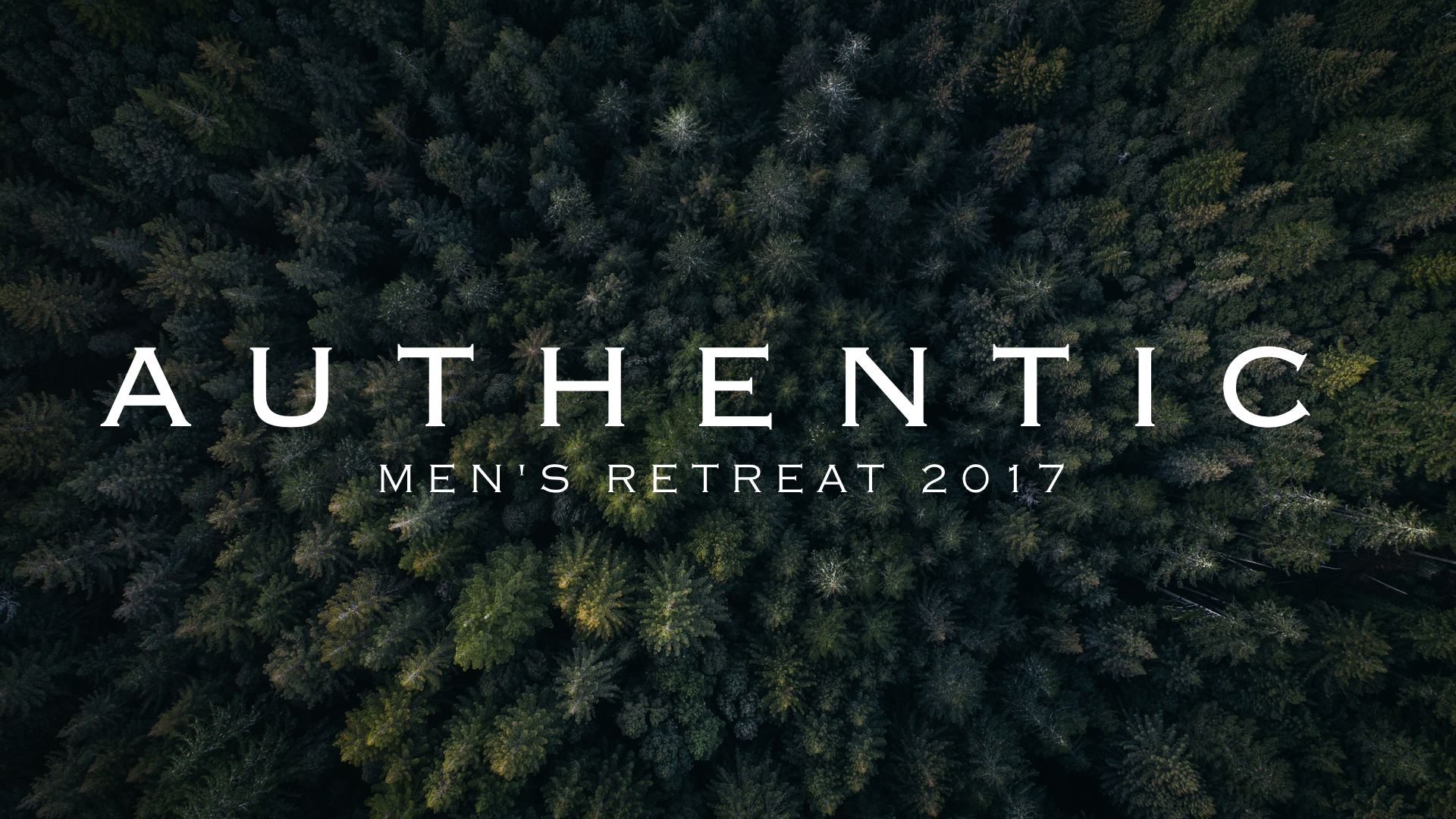 Men s retreat banner