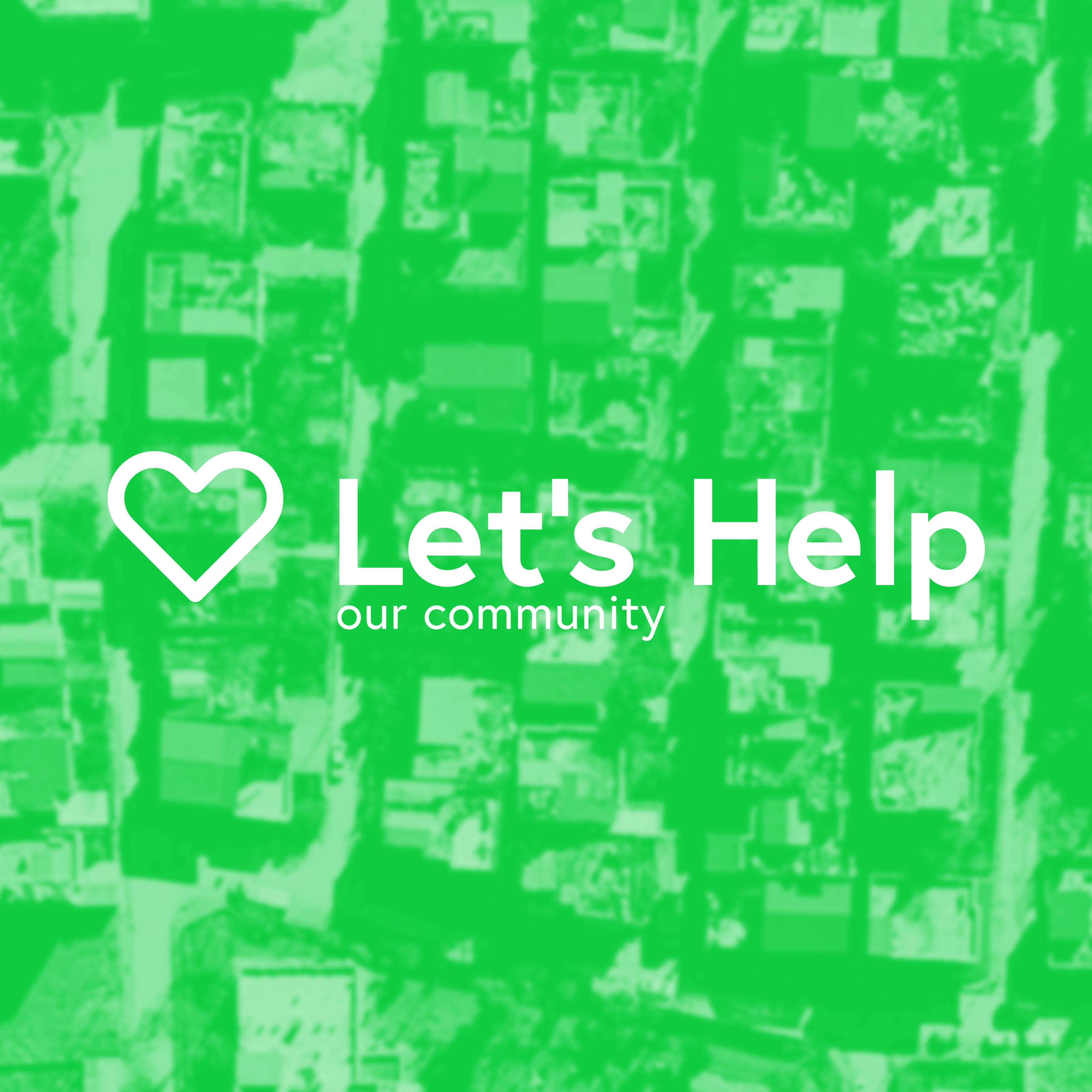 Let s help photo community square