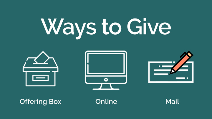 Ways To Give logo