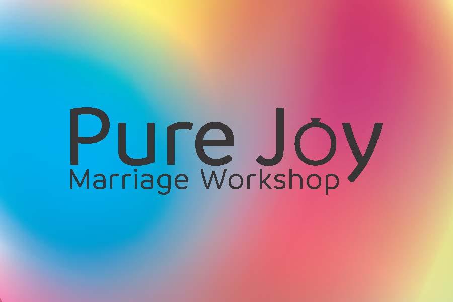 Pure joy invite card page 1