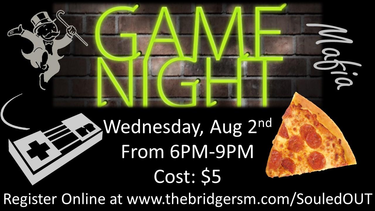 Game night flyer   8.2.17