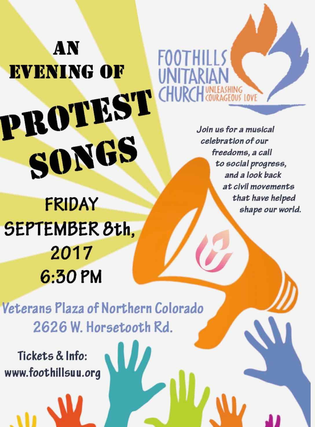 Protest poster 9.8.17