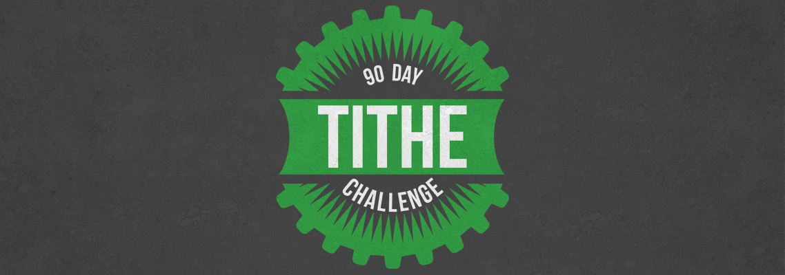 Tithe challenge web heading