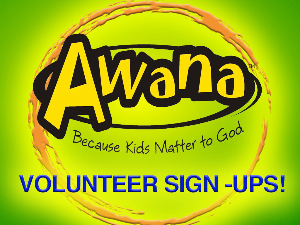 Awana volunteer icon