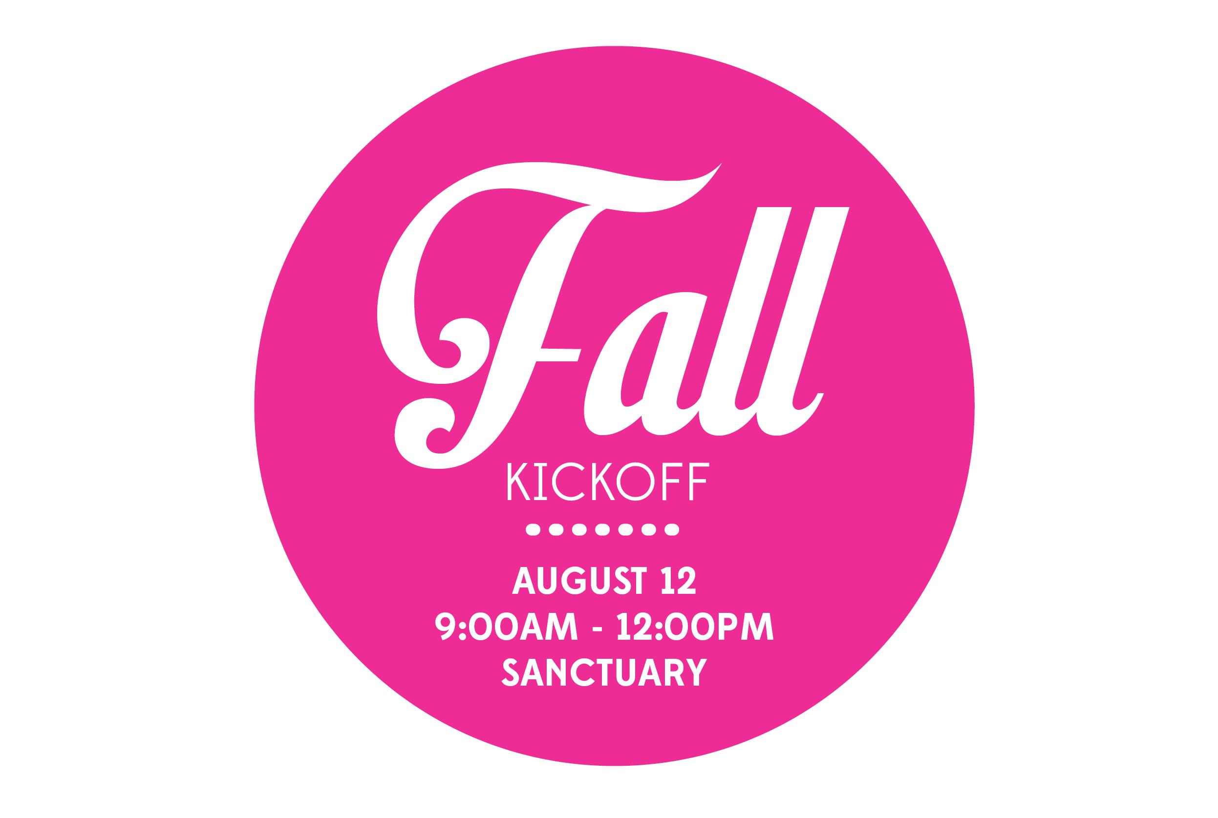 Fall kick off mailchimp
