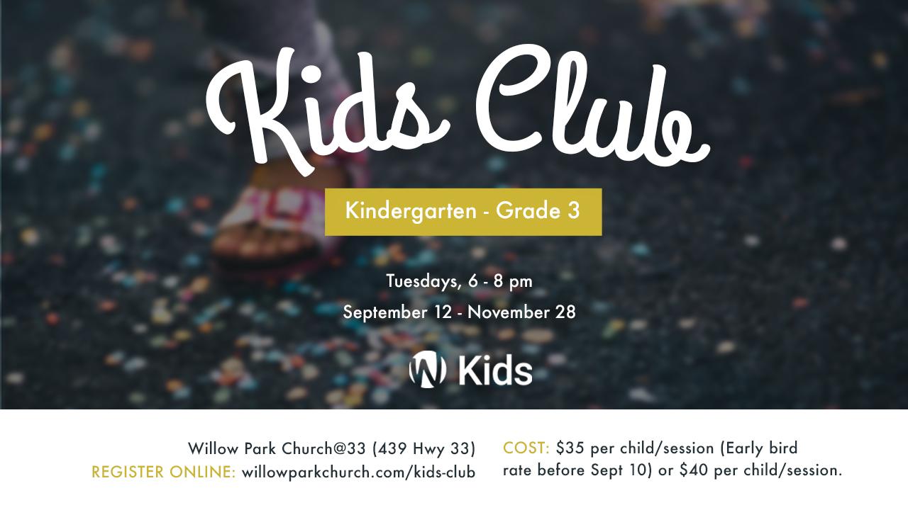 Event kidsclub fall2017