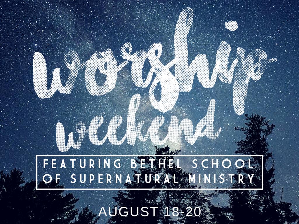 Worship weekend with bethel fb post