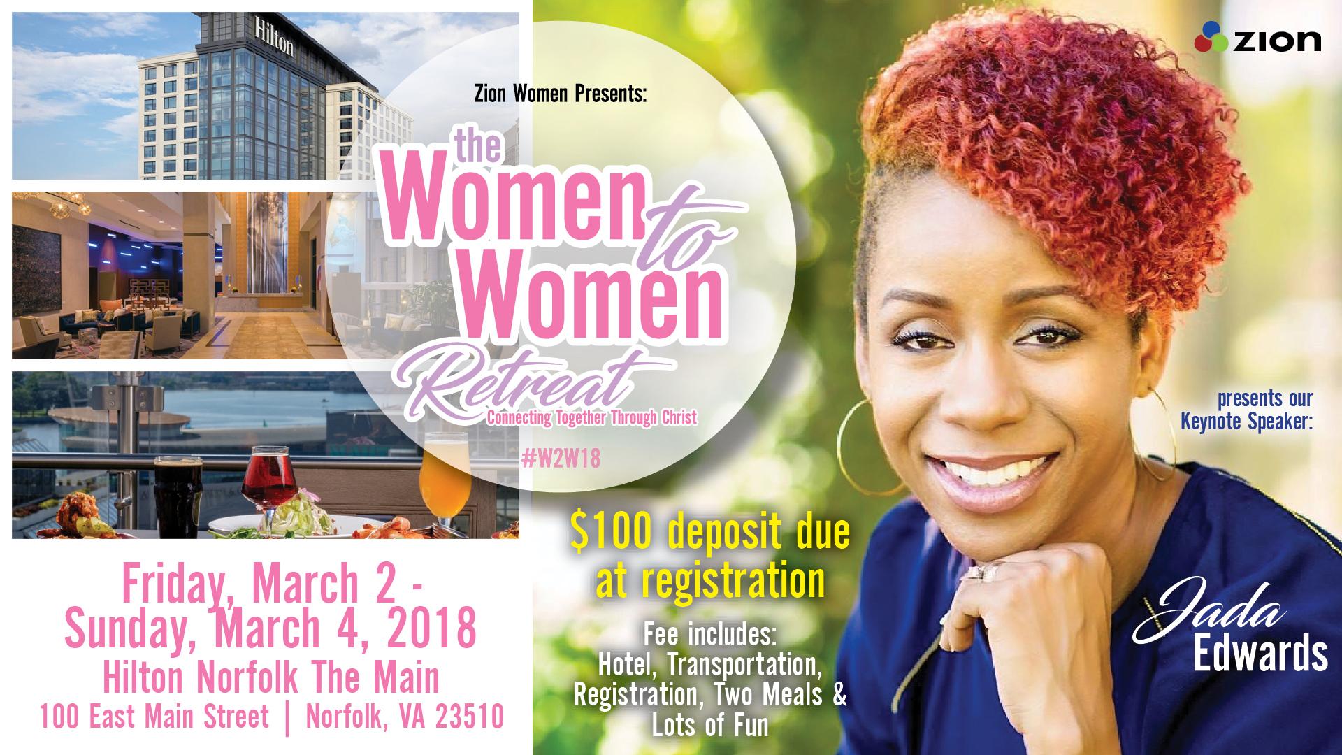 Women to women registration jada