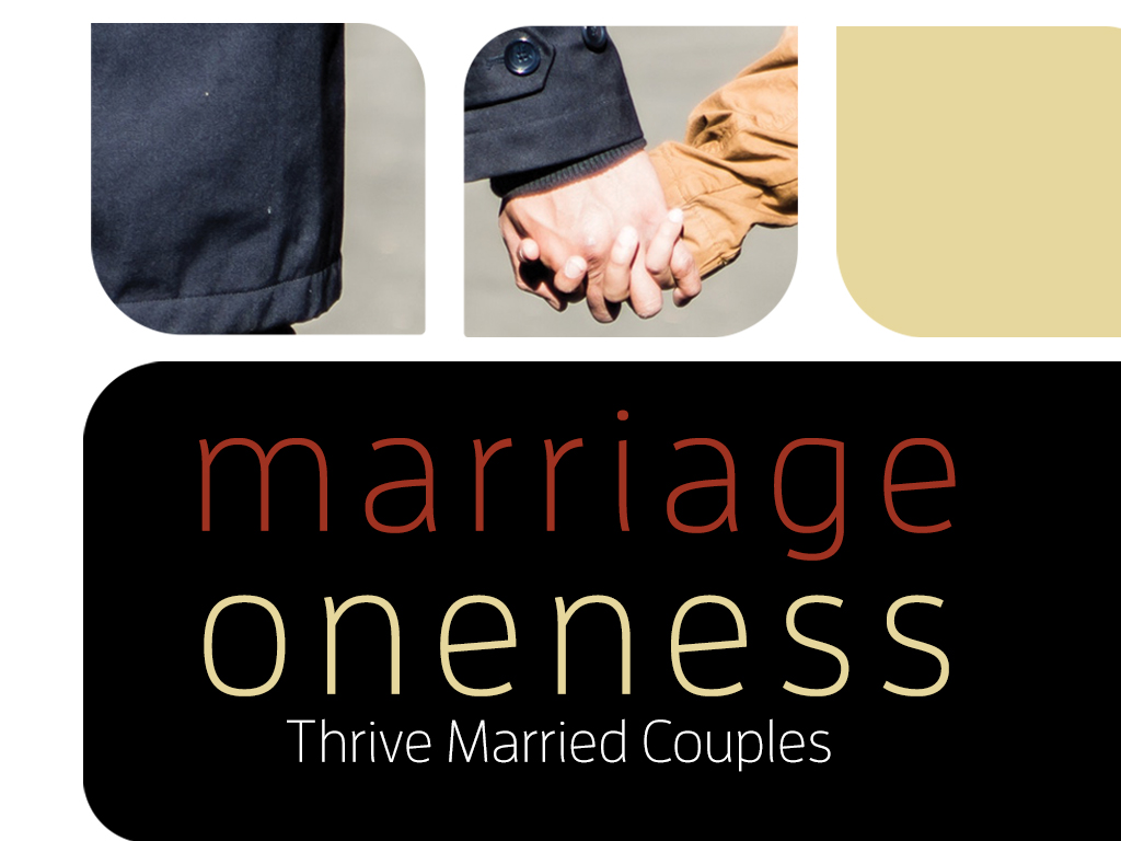 Marriageonenessevents