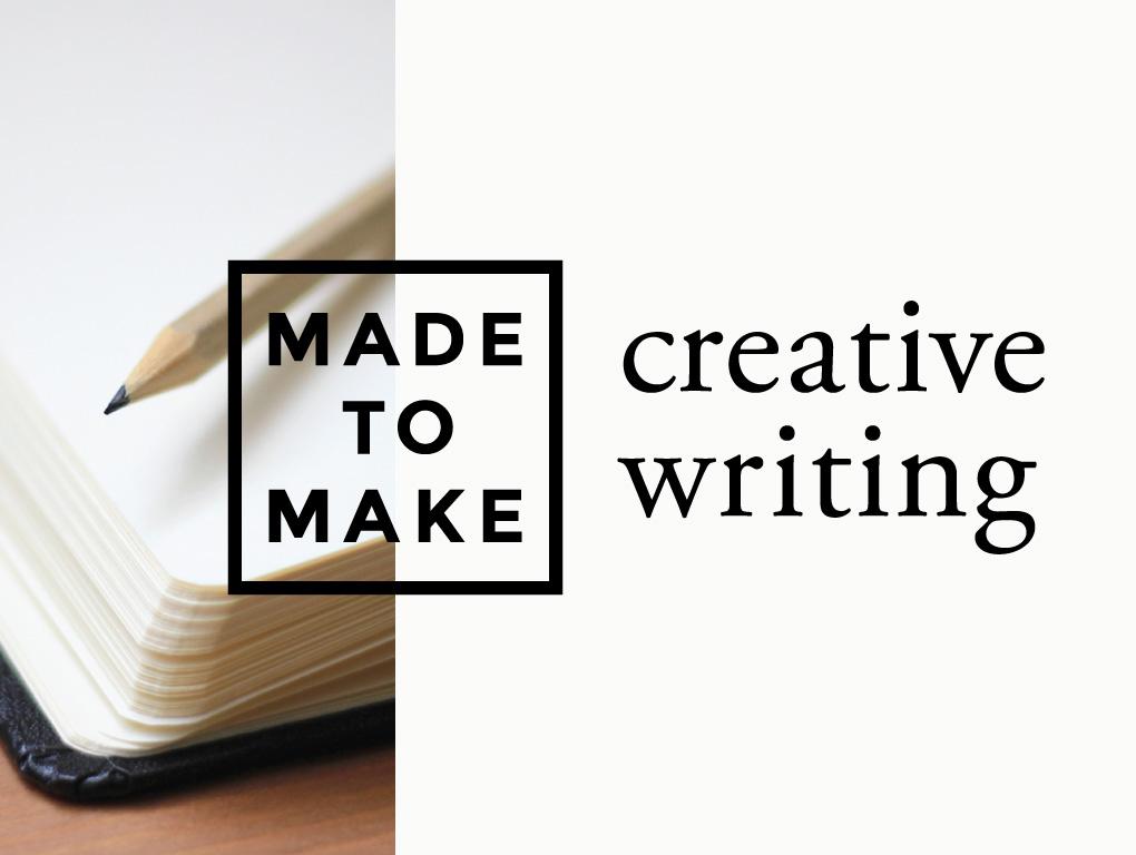 Made to make creativewriting pco