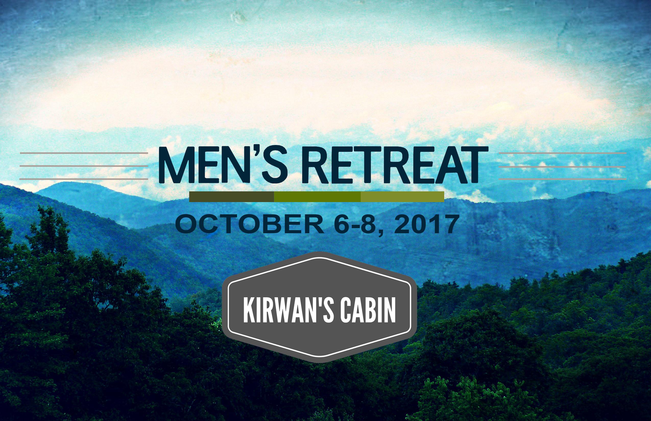 Mountain men retreat fall 2017