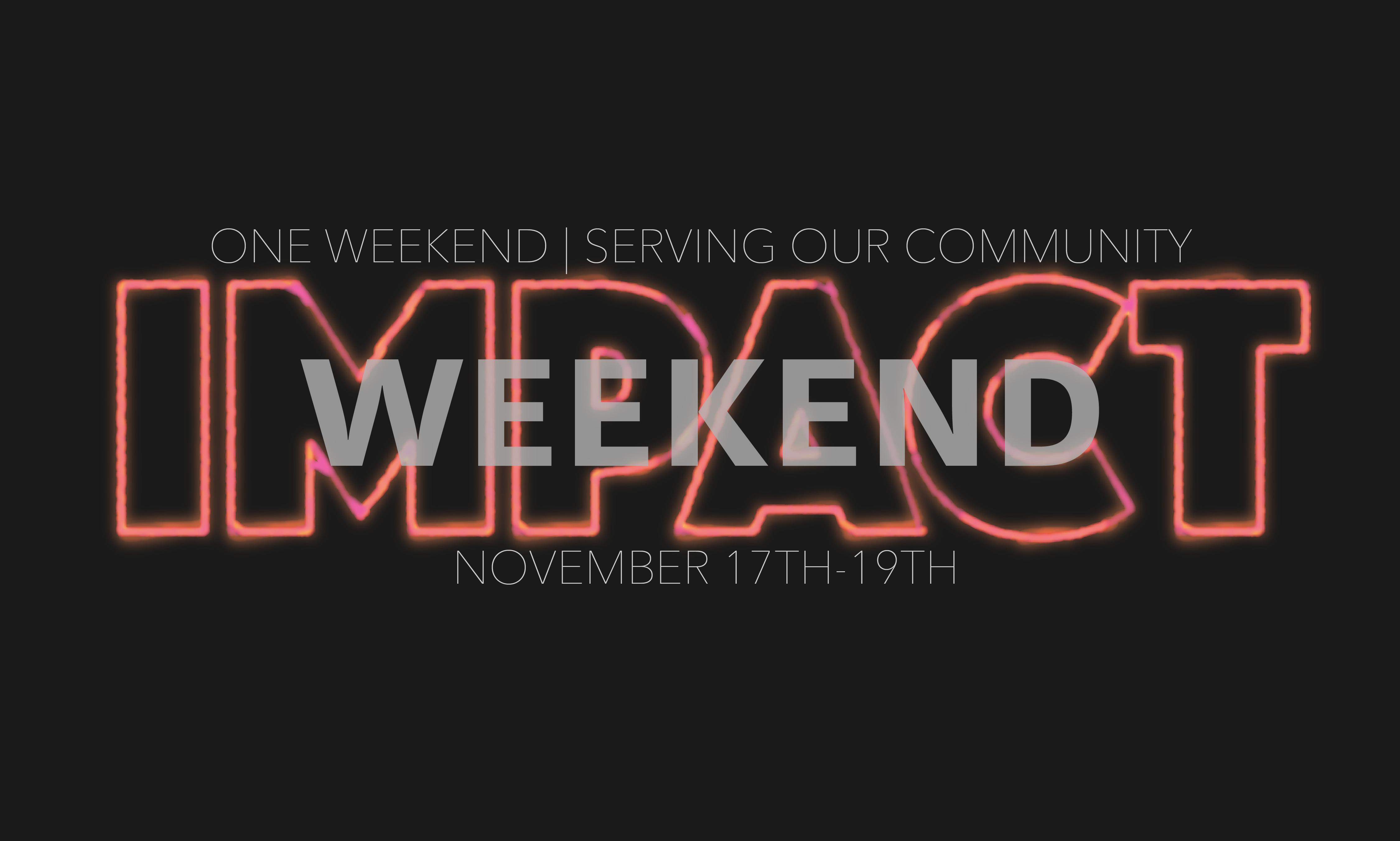 Impact weekend logo