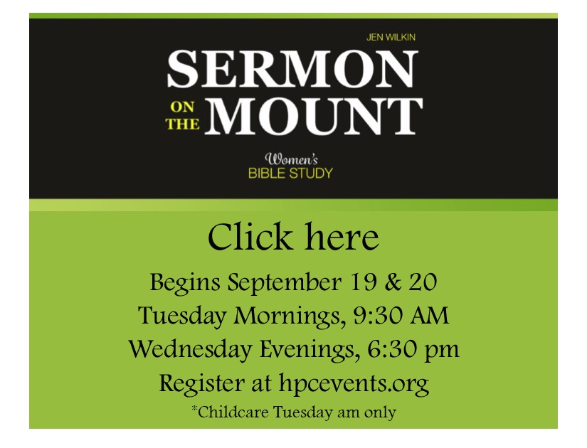 Sermon on the mount fliers logo