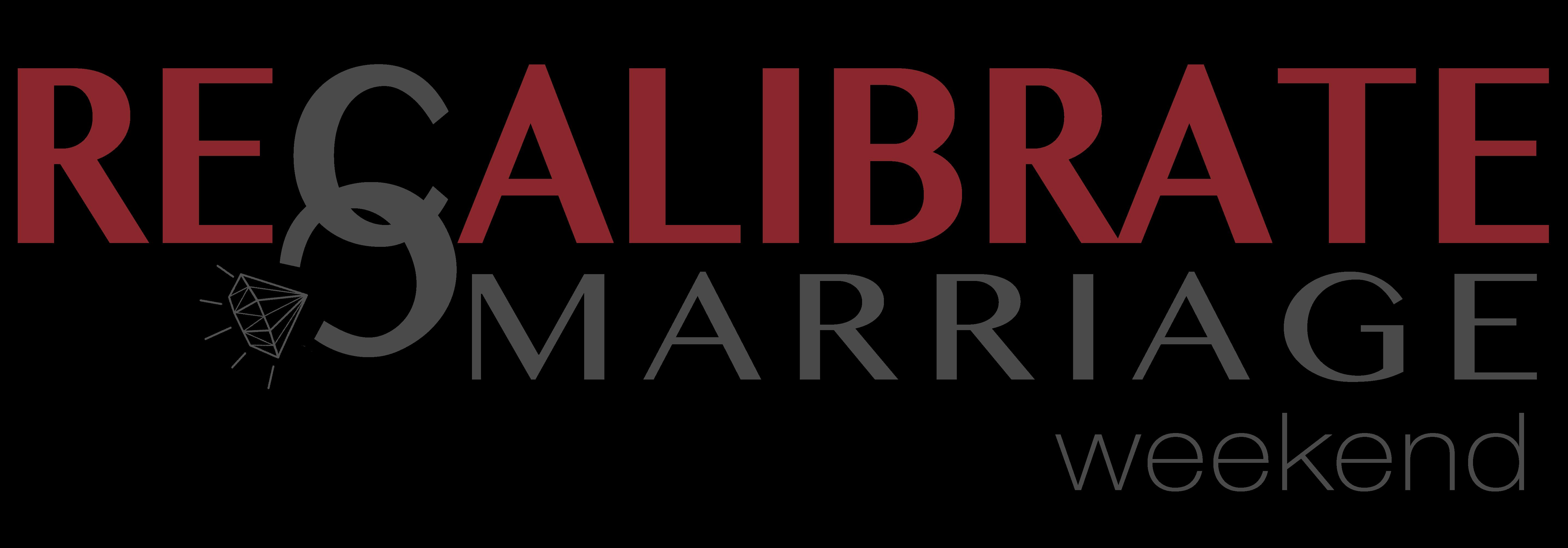 Recalibrate marriage logo