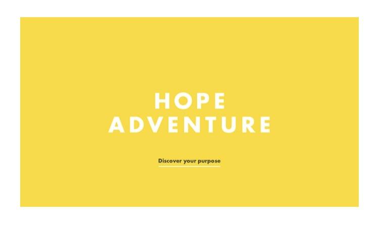 Hope adventure logo