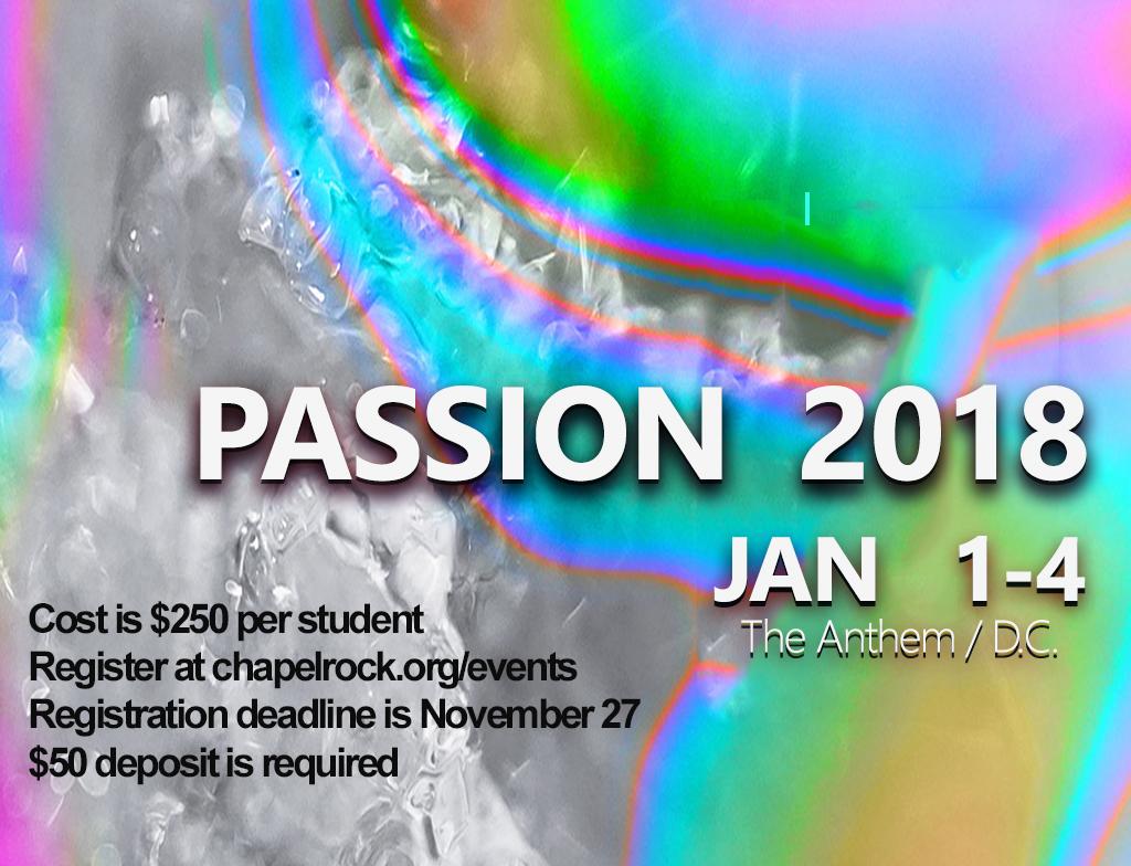 Pco passion conference 2018