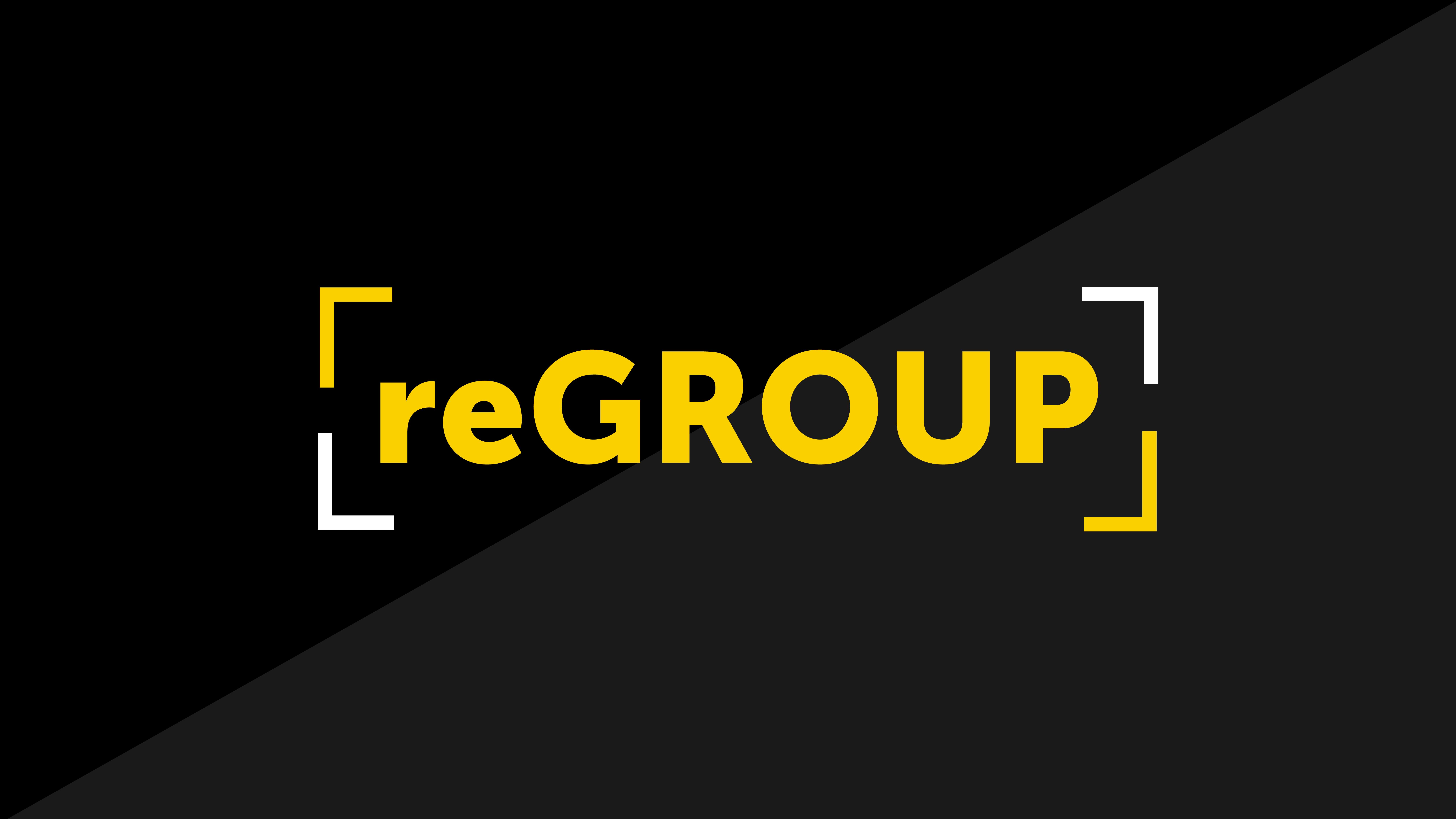 Regroup title slide 01