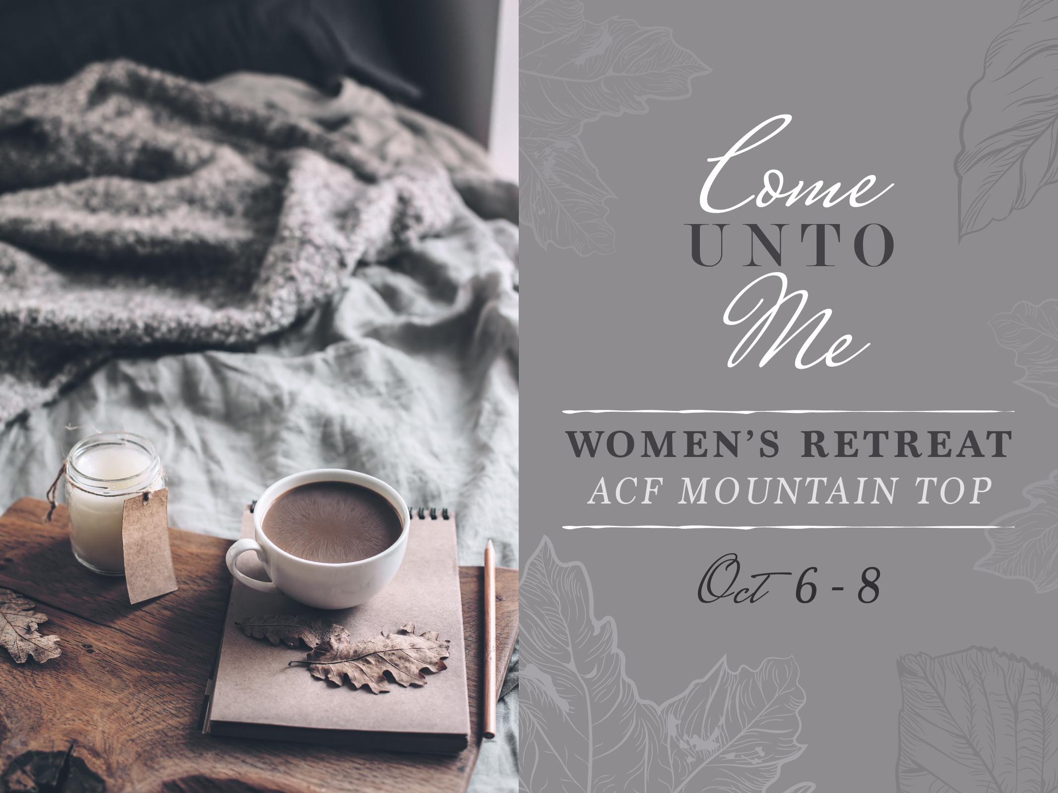 Fall women s retreat web