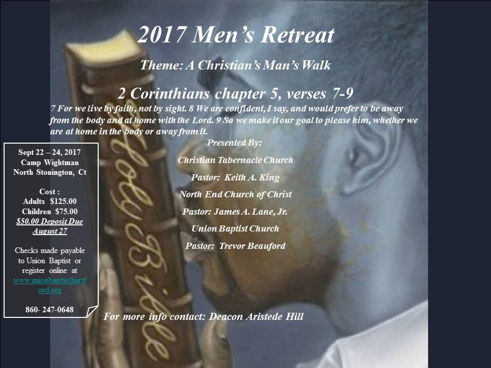 Union men s retreat flyer