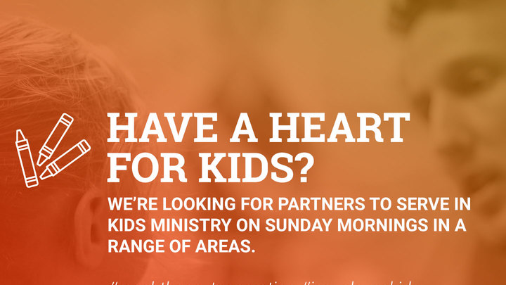 2019 Kids Ministry Volunteer Application (NEW Partner) logo image