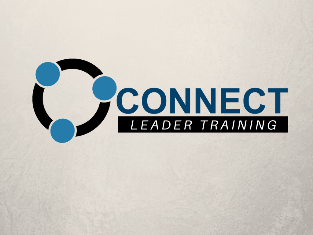 Connect leader training  1