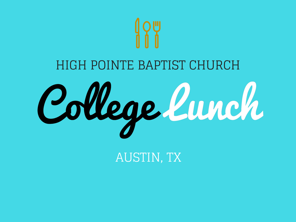 College lunch   pco registrations event logo