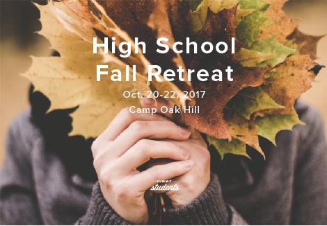 Fall retreat pco
