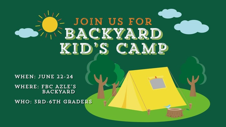 Backyard Kid's Camp logo