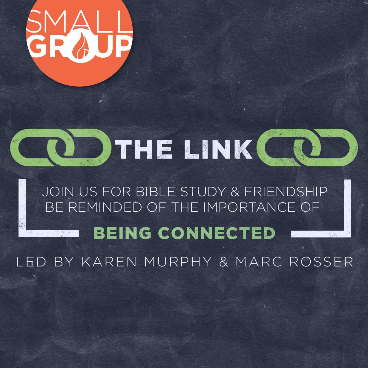 The link artowrk w logo