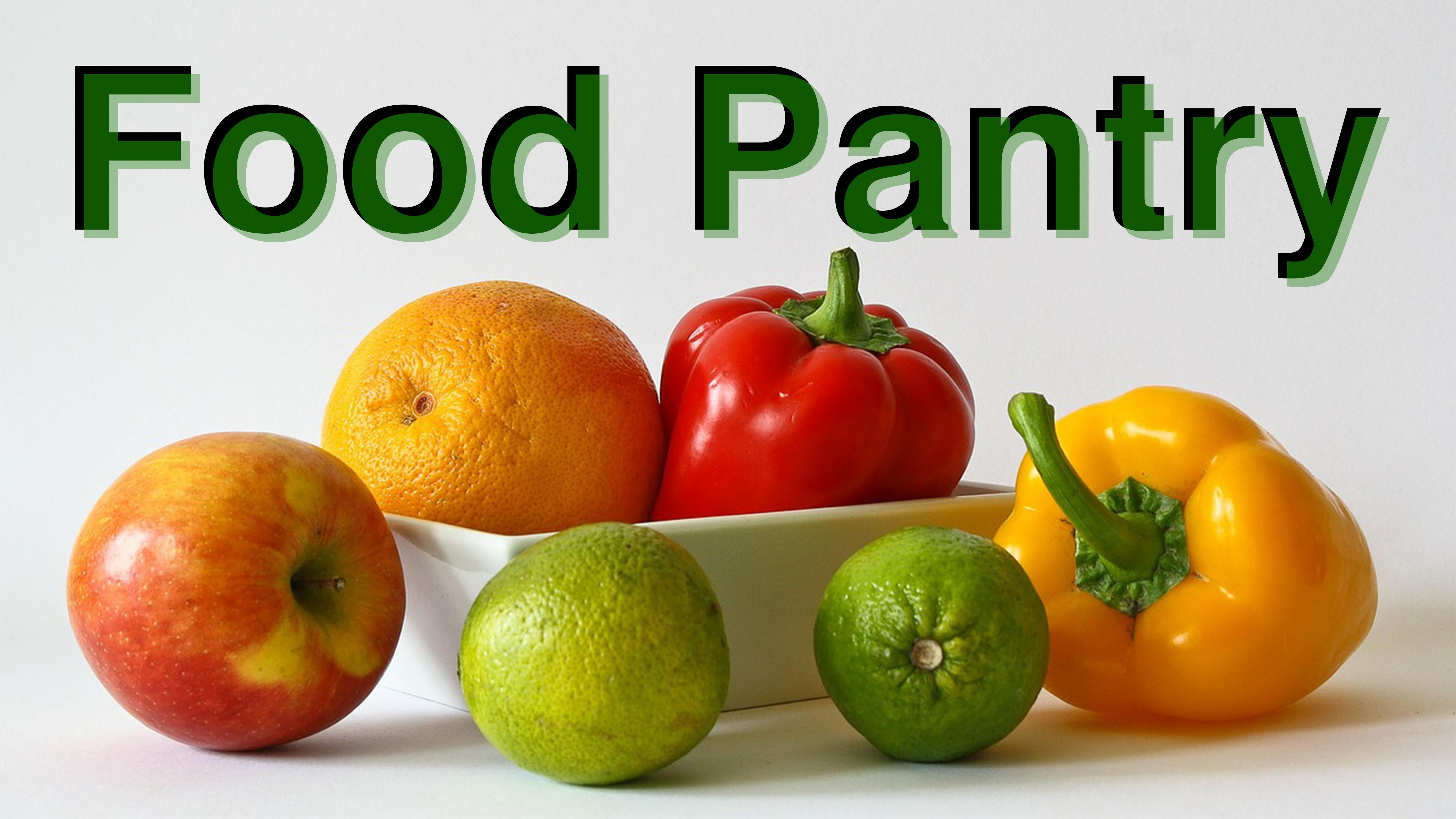 Food pantry  blank   1