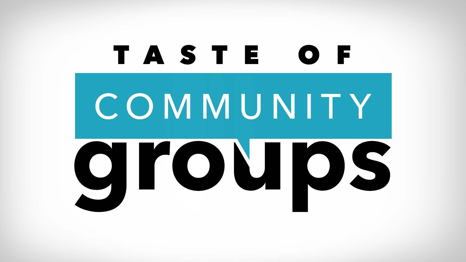 Taste of community groups logo