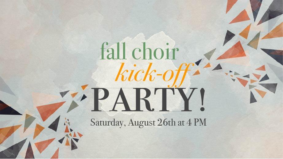 Choir kickoff party 01
